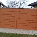 Jászberény Katona u. új fa kerítés Nature bevonat - 2006