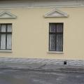 Jászberény Serház u. History - tégla lábazatot
